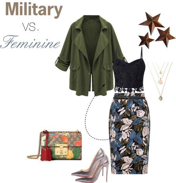 Military x Feminine