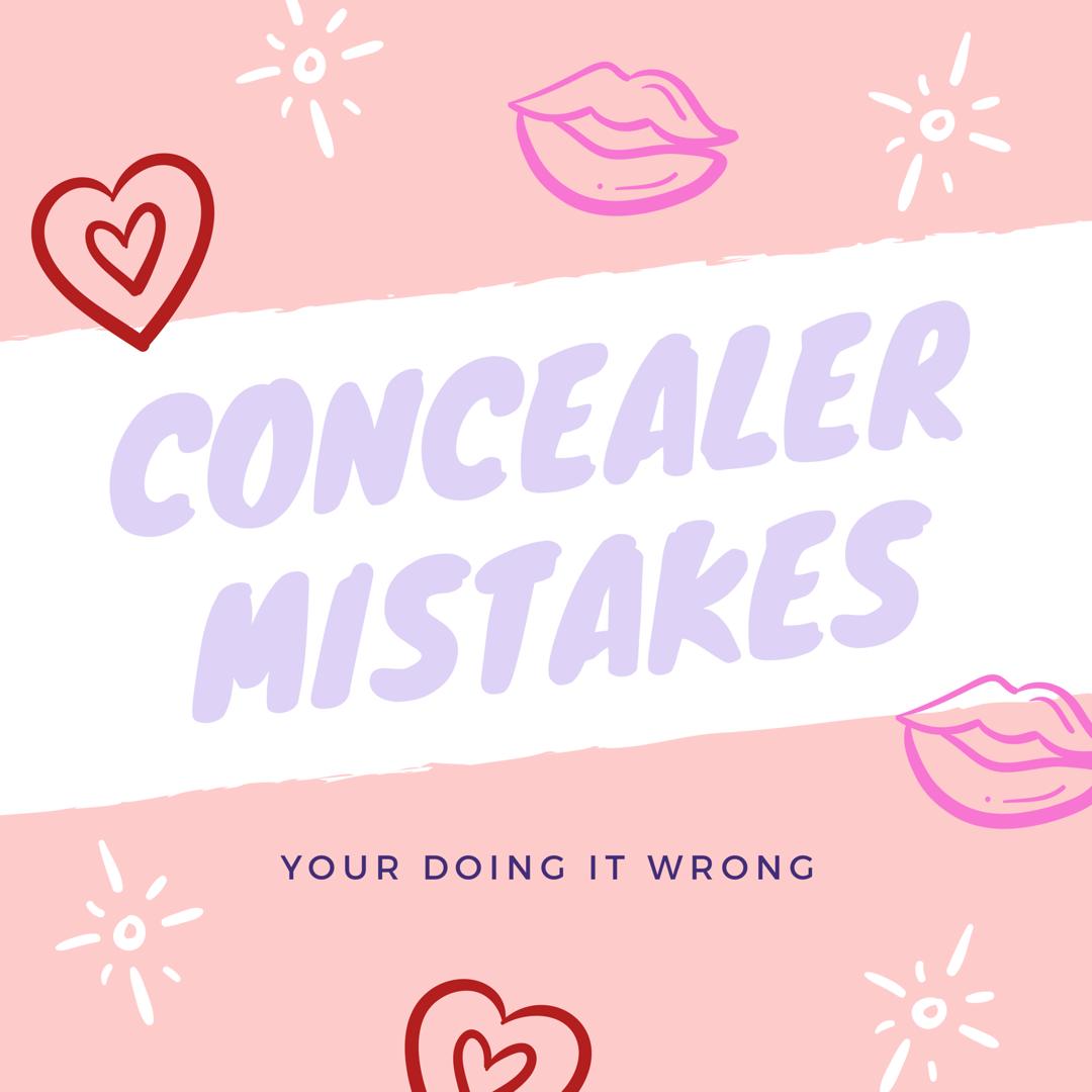 Concealer Mistakes