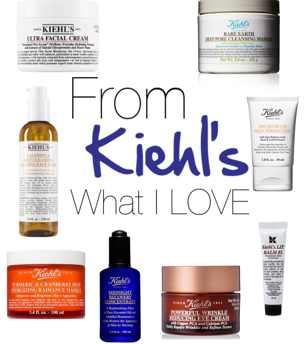 From Kiehl's With LOVE